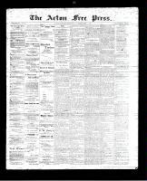 Acton Free Press (Acton, ON), August 24, 1893