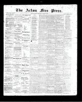 Acton Free Press (Acton, ON)31 Aug 1893