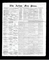 Acton Free Press (Acton, ON), September 14, 1893