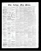 Acton Free Press (Acton, ON), October 5, 1893