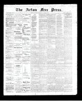Acton Free Press (Acton, ON), October 12, 1893