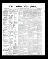 Acton Free Press (Acton, ON)25 Jan 1894