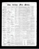 Acton Free Press (Acton, ON), June 28, 1894