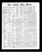 Acton Free Press (Acton, ON), September 6, 1894