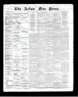 Acton Free Press (Acton, ON), September 27, 1894