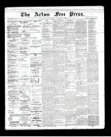 Acton Free Press (Acton, ON), November 29, 1894
