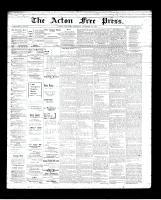 Acton Free Press (Acton, ON), December 27, 1894