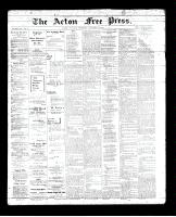 Acton Free Press (Acton, ON), January 17, 1895