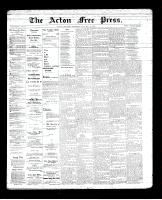 Acton Free Press (Acton, ON), January 24, 1895