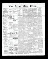 Acton Free Press (Acton, ON), February 14, 1895