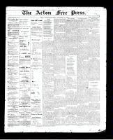 Acton Free Press (Acton, ON)10 Sep 1896