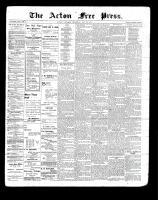 Acton Free Press (Acton, ON)20 May 1897