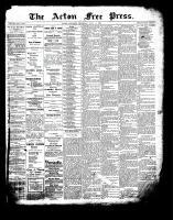 Acton Free Press (Acton, ON), July 13, 1899