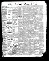 Acton Free Press (Acton, ON), July 20, 1899