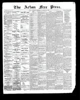 Acton Free Press (Acton, ON), November 30, 1899