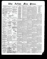 Acton Free Press (Acton, ON), December 7, 1899
