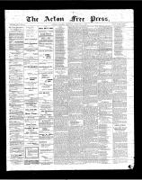 Acton Free Press (Acton, ON), February 8, 1900