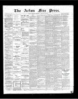 Acton Free Press (Acton, ON), February 15, 1900
