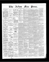 Acton Free Press (Acton, ON), February 22, 1900