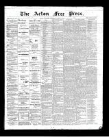 Acton Free Press (Acton, ON), March 8, 1900