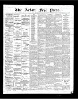 Acton Free Press (Acton, ON), March 15, 1900