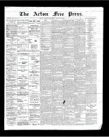 Acton Free Press (Acton, ON), March 22, 1900