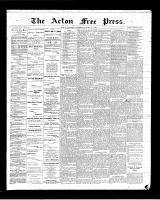 Acton Free Press (Acton, ON), April 12, 1900