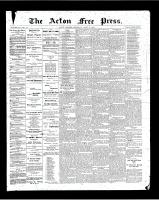 Acton Free Press (Acton, ON), April 26, 1900