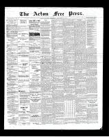 Acton Free Press (Acton, ON), September 20, 1900