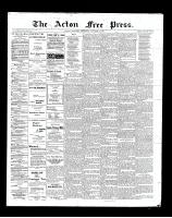 Acton Free Press (Acton, ON), October 4, 1900