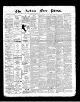 Acton Free Press (Acton, ON), June 6, 1901