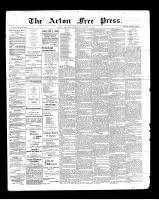 Acton Free Press (Acton, ON), August 15, 1901