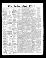 Acton Free Press (Acton, ON), August 22, 1901