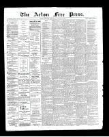 Acton Free Press (Acton, ON), August 29, 1901
