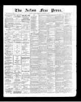Acton Free Press (Acton, ON), September 5, 1901