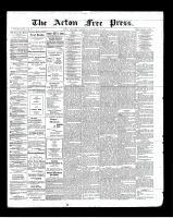 Acton Free Press (Acton, ON)12 Sep 1901