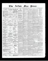 Acton Free Press (Acton, ON), September 19, 1901