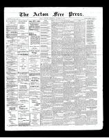 Acton Free Press (Acton, ON), October 24, 1901