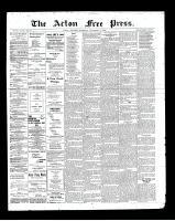 Acton Free Press (Acton, ON), November 14, 1901