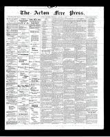Acton Free Press (Acton, ON), January 9, 1902