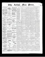 Acton Free Press (Acton, ON), May 1, 1902