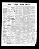 Acton Free Press (Acton, ON), August 28, 1902