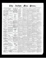 Acton Free Press (Acton, ON), March 12, 1903