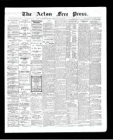 Acton Free Press (Acton, ON), July 16, 1903