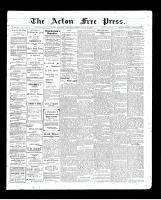 Acton Free Press (Acton, ON), July 23, 1903