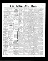 Acton Free Press (Acton, ON), August 6, 1903