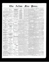 Acton Free Press (Acton, ON), August 13, 1903
