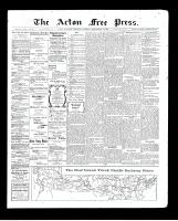 Acton Free Press (Acton, ON), September 10, 1903
