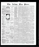 Acton Free Press (Acton, ON)21 Mar 1907