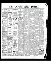 Acton Free Press (Acton, ON), August 20, 1908
